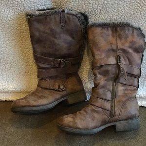 Women's Roxy Norfolk Boots Brown Nubuck 8.5
